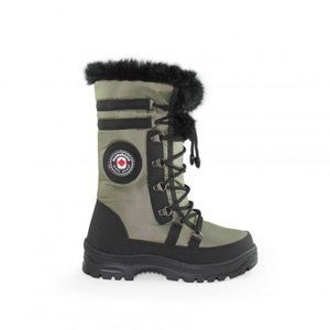 Women's winter boots with anti-slip system -30C
